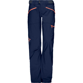 Norrøna Falketind Flex1 Broek Dames, indigo night/melon